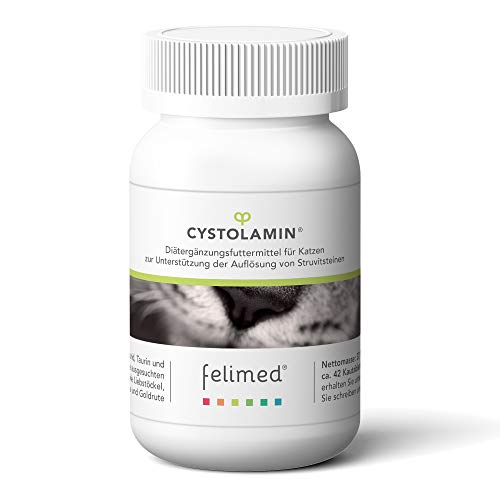 Felimed-Cystolamin für Katzen/Katzen-Vitamine/Methionin, Aminosäuren/Liebstöckel