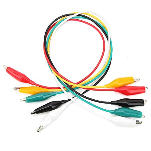 Los Cables de Prueba de pinza de Cocodrilo de Doble Extremo de...