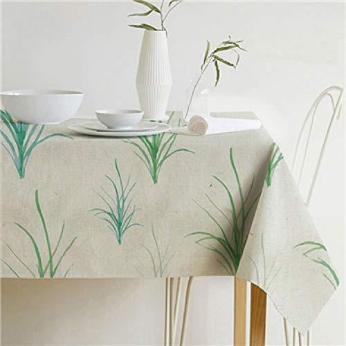 YCAZSH tafelkleed Tuin Decoratie Tropische Plant Bladeren Tafelkleed Katoen Linnen Tafelkleed Tafelkleed Keuken Home Decoratie