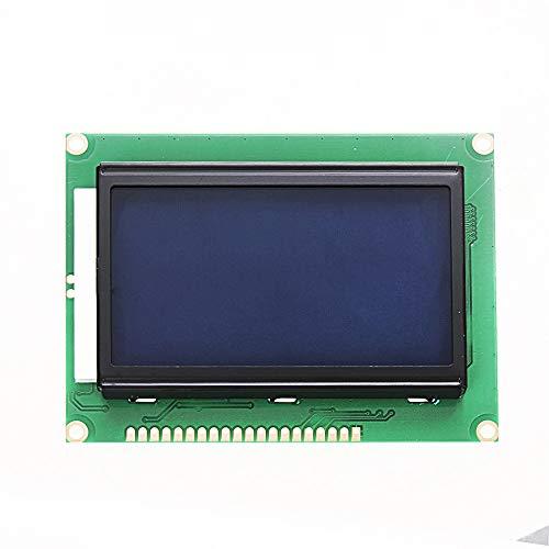 12864 128 x 64 Símbolo Gráfico Fuente LCD Módulo de Pantalla Azul Retroiluminación Para Arduino