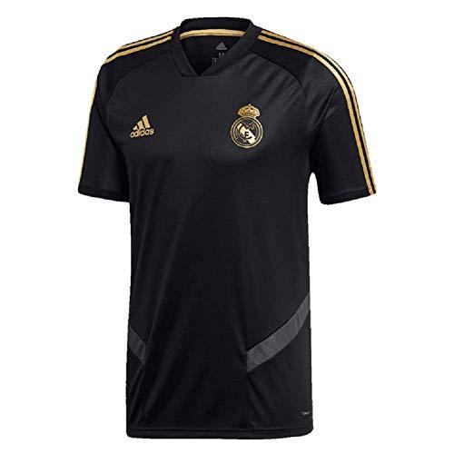 adidas - Camiseta de Entrenamiento del Real Madrid 19/20, Spanische Primera Liga, Color Negro, tamaño XX-Large