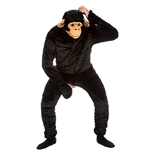 My Other Me Me-204365 Disfraz de chimpancé, M-L (Viving Costumes 204365)