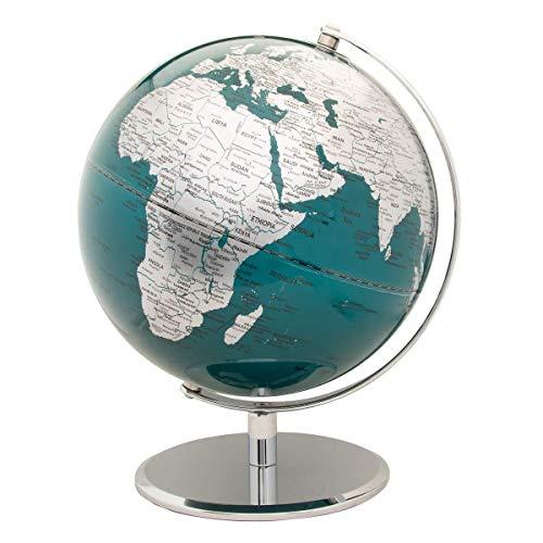 SGOTA Ofoice Illuminated World Globe, 8 Inch Constellation Globe with World Map for Kids Educational Interactive Astronomy & Geographic Map Globe