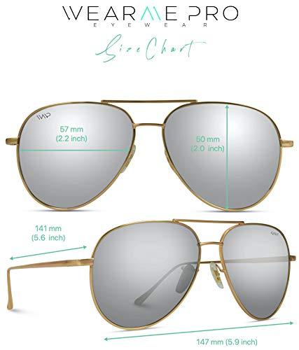 Aviator Full Silver Mirror Metal Frame Sunglasses Colorado