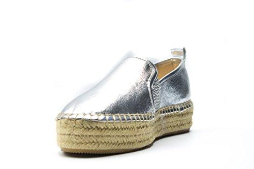 Guess Chaussures Compensées Rela - Argent - 36 EU