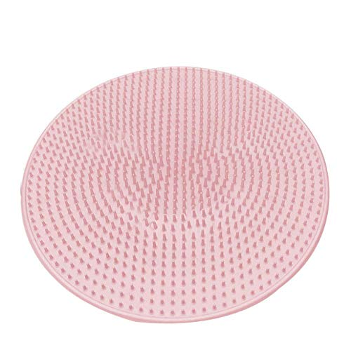 DaProge Silicone Bath Massage Cushion Brush, Anti-Slip Multi-Functional Massage Pad Foot Massager for Lazy Wash Feet Clean Dead Skin Bathroom, Foot Scrubber Cleaner Massager