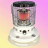 BKWJ Calentador de Queroseno de convección portátil, Calentador de Aceite Interior de 23,800 BTU con protección Segura, Calentador de Patio al Aire Libre para Acampar/Caminar