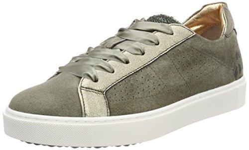 Maripe Damen 26372 Sneaker, Grün (Camoscio Kaki), 39 EU