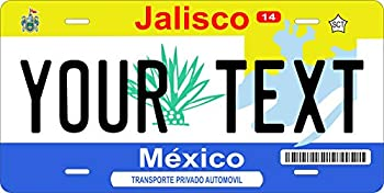jalisco license plate