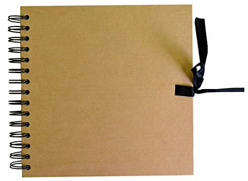 Album de Espiral con Papel Kraft tamaño 20x20cm Ref 11009019
