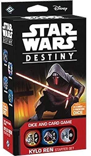Fantasy Flight Games «Star Wars Destiny»: baraja para Principiante de Kylo REN.