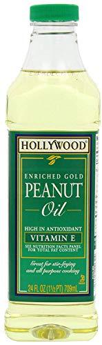 Hollywood Enriched Gold Peanut Oil, 24 Oz