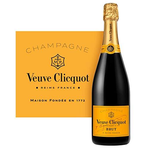 Veuve Clicquot Brut Yellow Label mit Geschenkverpackung, 0.75l - 5