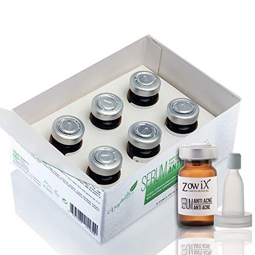 ZOWIX Tratamiento Antiacne con Acido Salicílico. Serum facial contra el acne que reduce Espinillas, Puntos Negros y Granos. Natural Acne juvenil y adulto. 30 ml.