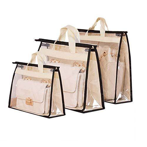 3PCS Handbag Storage, Organizer, Dust Cover Bag