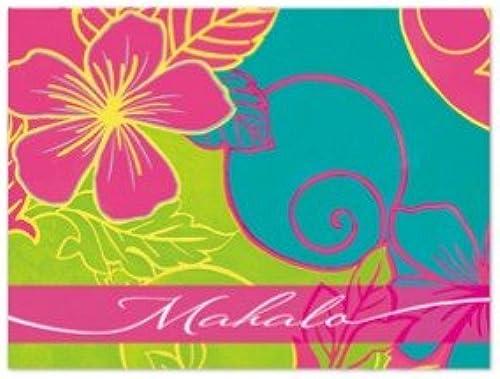 deportes calientes Lively Lively Lively hibisco Mahalo tarjetas paquete de 10unidades  minorista de fitness