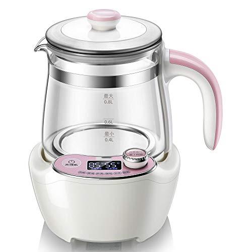 HYQW 24 Stunden Konstante Temperatur Babyflaschenwärmer Und Sterilisator Flaschenwärmer Flaschen Sterilisator - Pink,Pink