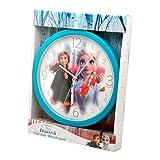 5085 ディズニー アナと雪の女王 Disney FROZEN 掛け時計 時計 直径24cm ウォールクロック Wall Clock [並行輸入品]