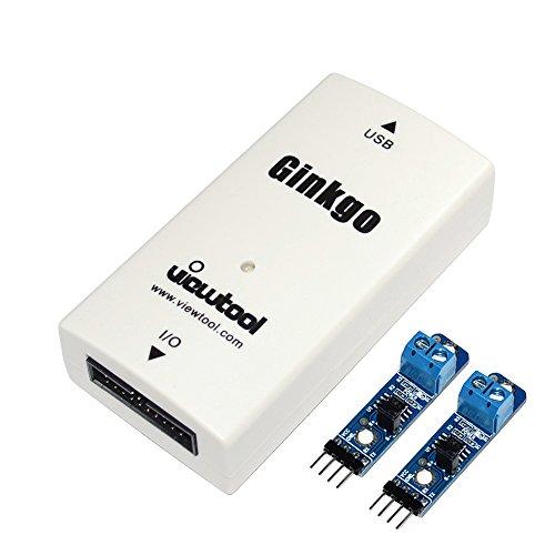viewtool Ginkgo USB auf CAN BUS Adapter Unterstützung Windows/Linux/MAC/Android/Raspberry Pi usb-can Konverter Kompatibel mit I2C/SPI/UART/ADC/DAC/GPIO