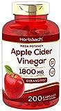 Apple Cider Vinegar Capsules | 1800mg | 200 Pills | Non-GMO, Gluten Free | by Horbaach