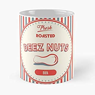 Deez Nuts Meme Dank Memes Internet Funny Humor Circus Vintage Concession Snack Peanuts Old Jemes Fresh Roasted Bofa Joke Mugs 11 Oz Best Gift