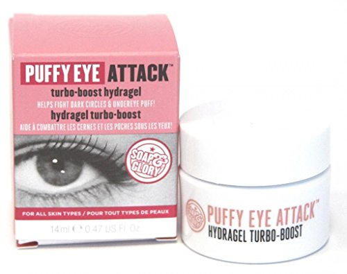 Soap And Glory Puffy Eye Attack Helps Fight Dark Circles & Undereye Puff...