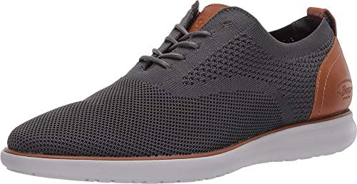 G.H. Bass & Co. Mens Connor KT Casual Oxford Shoe, Graphite, 9.5 M