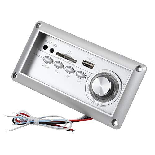 DAUERHAFT Placa de decodificación de Altavoz Multifuncional con Bluetooth MP3, Placa de decodificación de Audio portátil, Taburete de sofá, Soporte MP3 WMA WAV FLAC