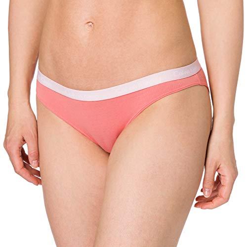 Calvin Klein Bikini Estilo Ropa Interior, Cuarzo Brillante, XS para Mujer