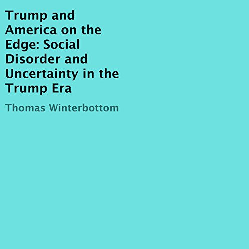 Trump and America on the Edge audiobook cover art