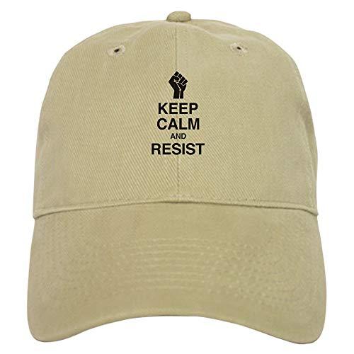 Keep Calm and Resist Baseball - Baseball Cap with Adjustable Closure, Unique Printed Baseball Hat