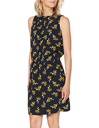 Esprit Damen Kleid, 050EE1E354, Blau(404/NAVY 5), 40