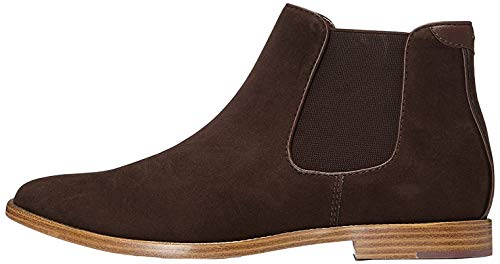 find. Albert Suede-Look Chelsea Boots, Braun (Chocolate), 44 EU