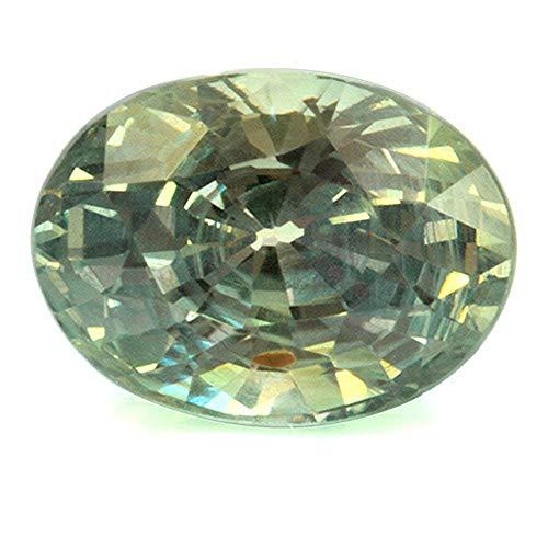 Piedra preciosa natural de Alexandrita con cambio de color, calidad superior, 5,8 x 4,3 mm, con experiencia de valor.