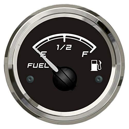 U/D HKRSTSXJ Kraftstoffanzeigen 52mm Kraftstoff Füllstandmessgerät Tankanzeige 0-190ohm Signal for Boots-Auto