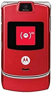 Motorola V3m RAZR Sprint Cell Phone [?] (Red)
