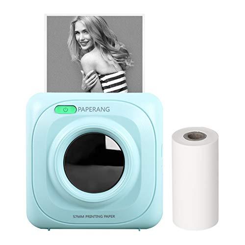 Paperang, Stampante termica tascabile Bluetooth wireless, portatile, 200 dpi, per foto, ricevute, memo, note, etichette, adesivi, compatibile con Android, iOS,...