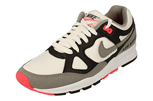 Nike Air Span II, Running Shoe Mens, Black/Dust-Solar Red-White, 45 EU