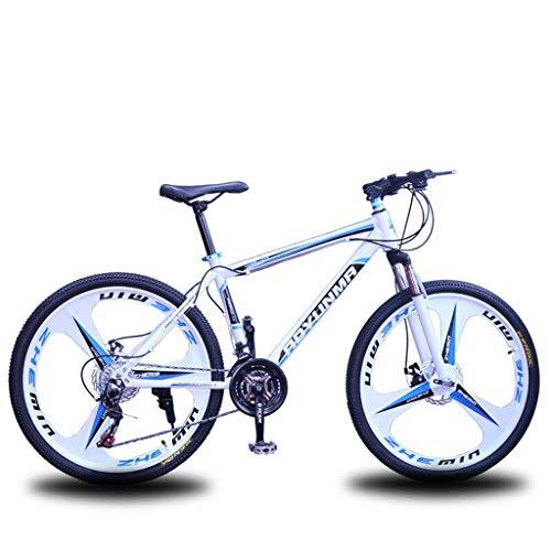 26'Full Suspension Mountain Bike 21 Speed Hard Frame Bicicletta Uomo O Donna
