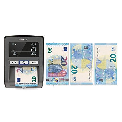 Safescan 155-S Noir - Détecteur automatique de faux billets
