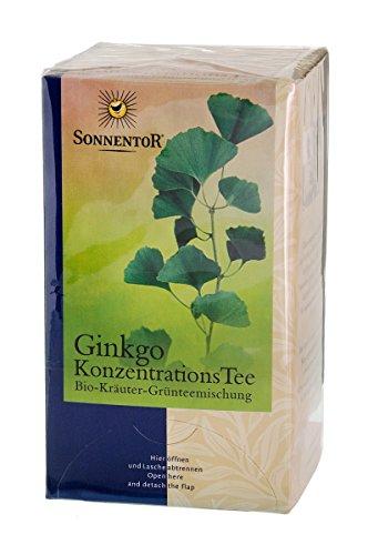 Sonnentor Ginkgo Konzentrations-Tee Btl.