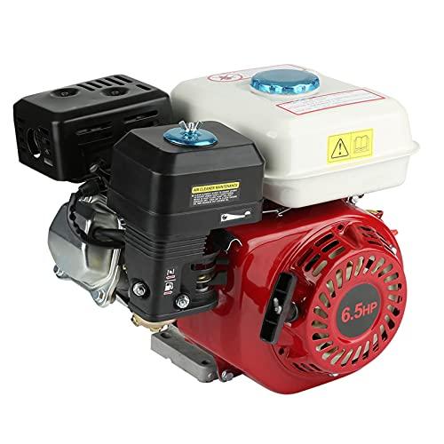 GOTOTOP 168F OHV - Motor de gasolina 4 tiempos OHV, un cilindro, 6,5 cv, arranque manual