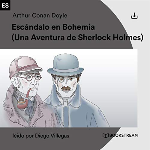 Escándalo en Bohemia audiobook cover art
