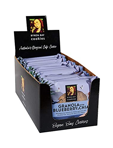 【日本初上陸記念】BYRON BAY cookies The Wrapped cookie バイロンベイクッキー 12枚セット (Granola Blueberry 60g ブラノーラ ブルベリー)