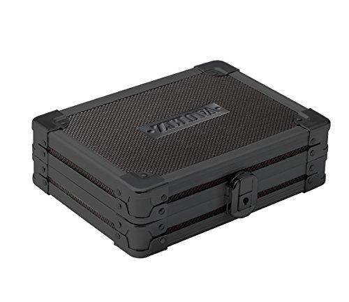 Vaultz Locking Mini Utility Box 175 x 45 x 575 Inches Tactical Black VZ03488