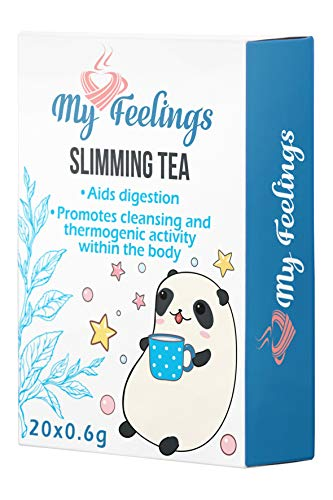 My Feelings - Té adelgazante. Extracto en polvo (20 sticks de 0,6 g / 0,4 oz)