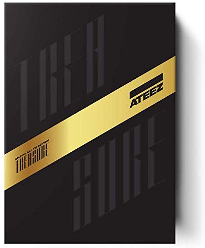 KQ Entertainment ATEEZ - Treasure EP.FIN : All to Action Album+Extra Photocards Set (A ver.)