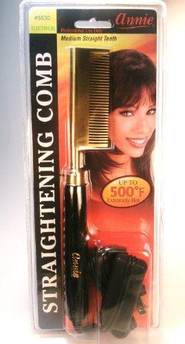 ANNIE Electrical Straightening Hot Comb - Medium Straight Teeth