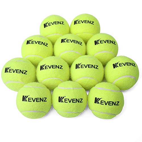 KEVENZ Standard Pressure Training Tennis Balls (12 Pack)