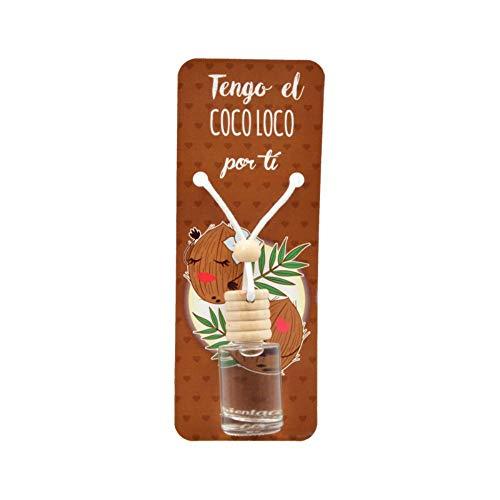 Lote de 20 Ambientadores de Coco para Coche. Fragancias. Perfumes y Aromas....